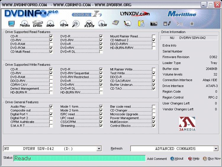 DVDInfoPro أفضل البرامج للحصول معلومات
